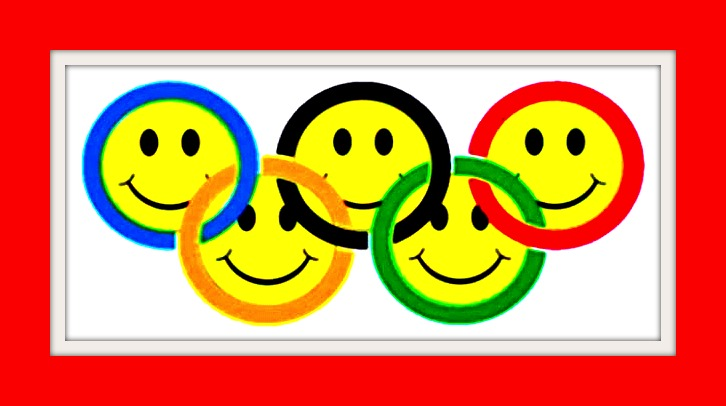 Smiling Olympic Circles
