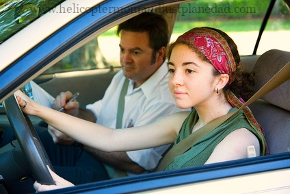 Safe driving tips for teens from Helicopter Mom and Just Plane Dad