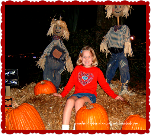 Fall pumpkin patch at Helicopter Mom and Just Plane Dad
