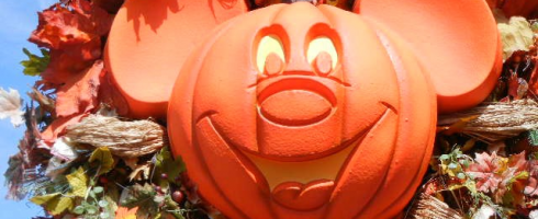 Disney pumpkin face