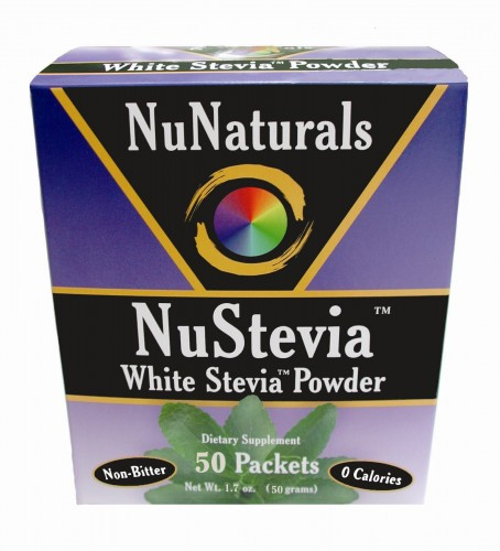 nunaturals stevia packets