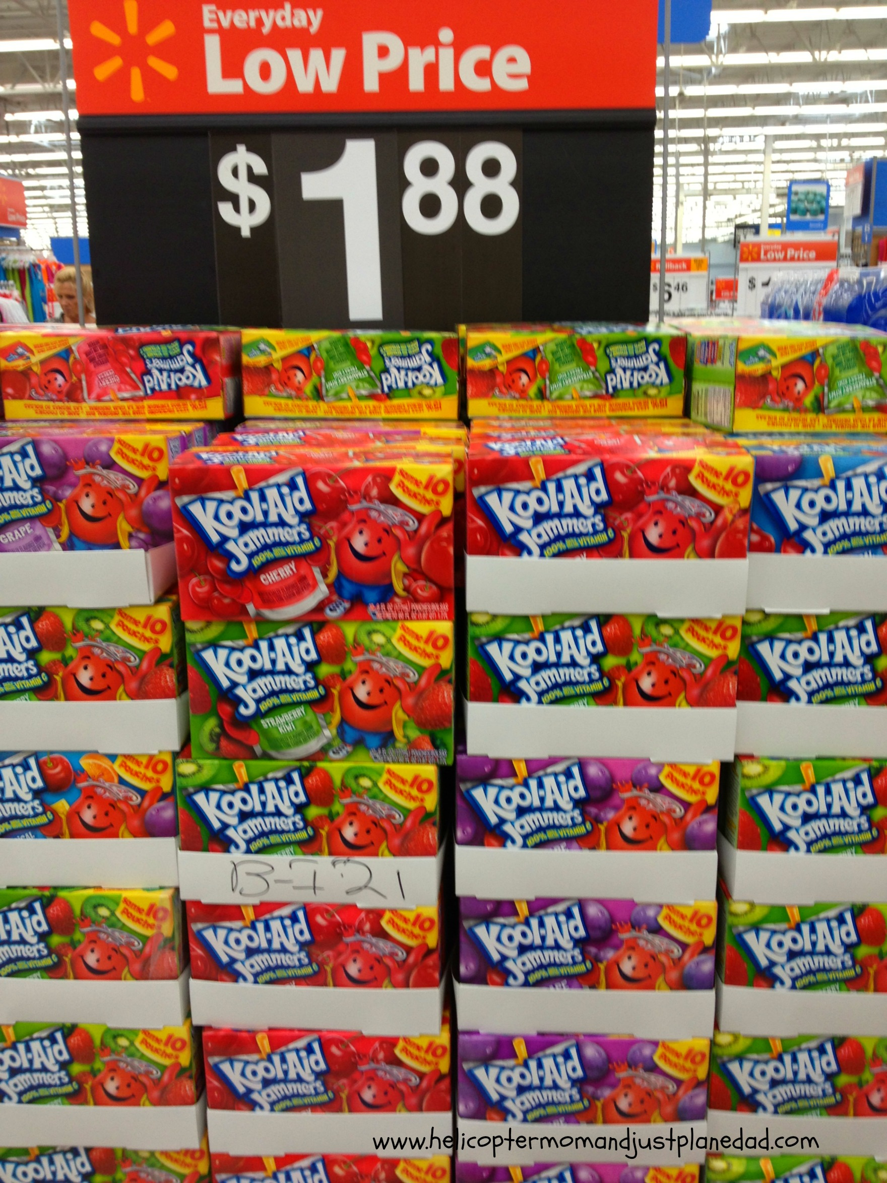 kool aid jammers displays