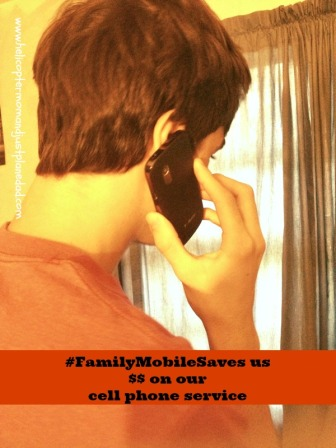calling friends with Walmart Family Mobile #shop