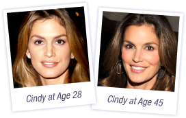 cindy crawford before and after