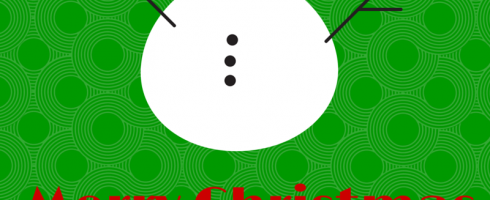Northpole snowman Christmas sign