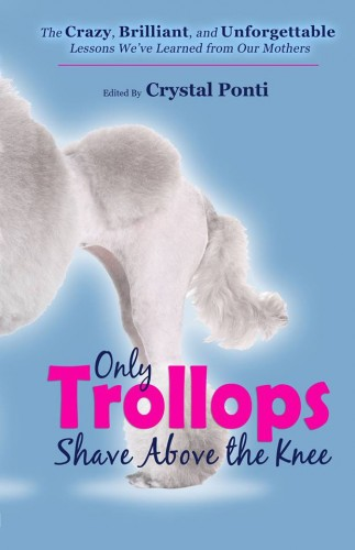 only trollops shave above the knee book cover