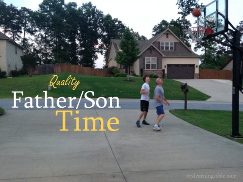 Spend quality time on Father's Day with your Son