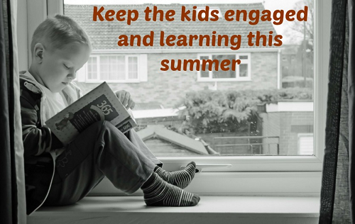 Mom Monday-How to eep kids learning over summer