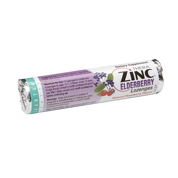 TheraZinc Elderberry Lozenges keep Helicopter Mom and Just Plane Dad healthy in winter!
