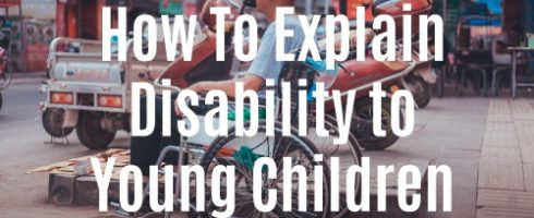 Explain disability to kids on Helicopter Mom and Just Plane Dad