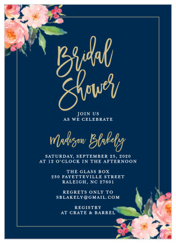 custom bridal shower invitationsw