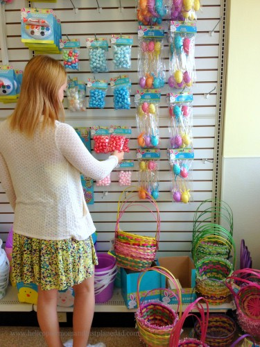 Beloved shopping for #HoneyBakedEaster decorations