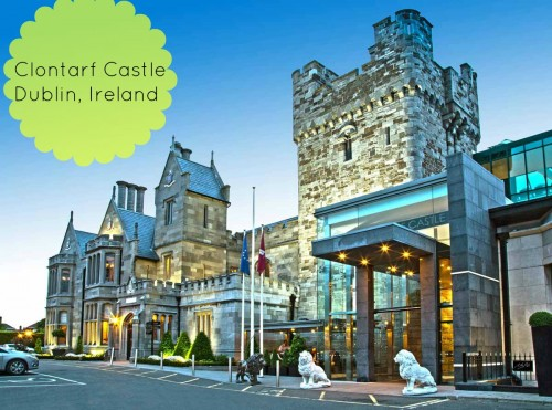 Clontarf Castle in Dublin #MarchIntoSavings #ad
