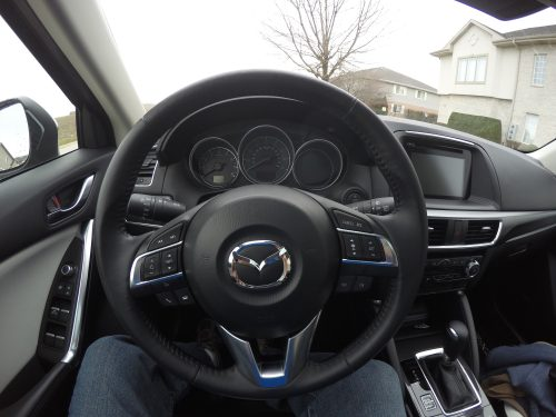 2016 Mazda CX-5 roomy interior #DriveMazda