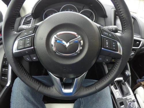 2016 Mazda CX-5 steering wheel #DriveMazda