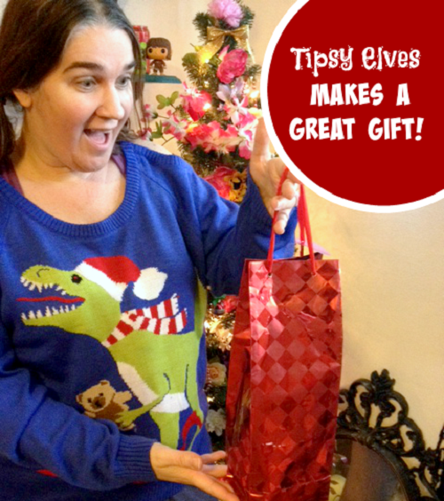 Helicopter Mom get a Tipsy Elves present