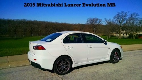 2015 Mitsubishi Lancer Evolution at Helicopter Mom and Just Plane Dad #DriveMitsubishi #ad