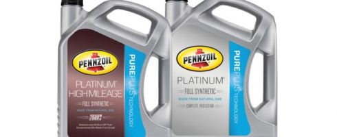Pennzoil Full Synthetic and Pennzoil Platinum High Mileage
