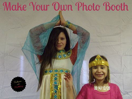 Make your own photo booth with Helicopter Mom and Just Plane Dad